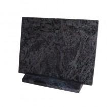 Plaque rectangle en granit sur socle